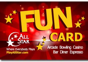 Front of All Star FUN eCard
