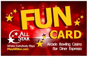 Front of new All Star FUN eCard