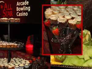 Catered parties at All Star Lanes & Casino