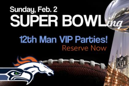 12th Man VIP Super Bowl Parties