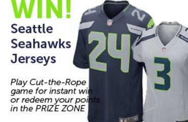 Play to Win Seattle Seahawks Jersey