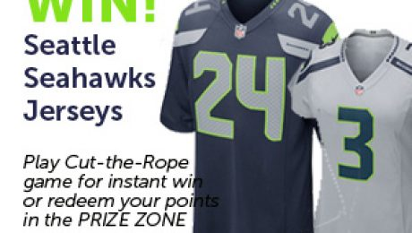 Play to Win Seattle Seahawks Jersey