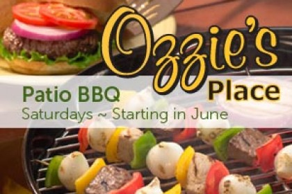 Summertime Patio BBQ at Ozzie's Place