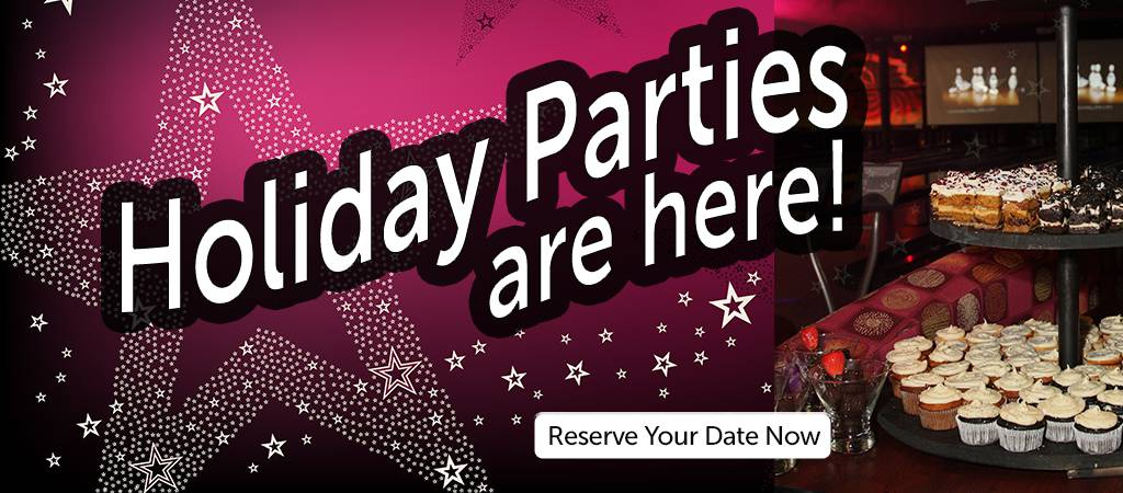 Holiday Parties are here at All Star Lanes & Casino