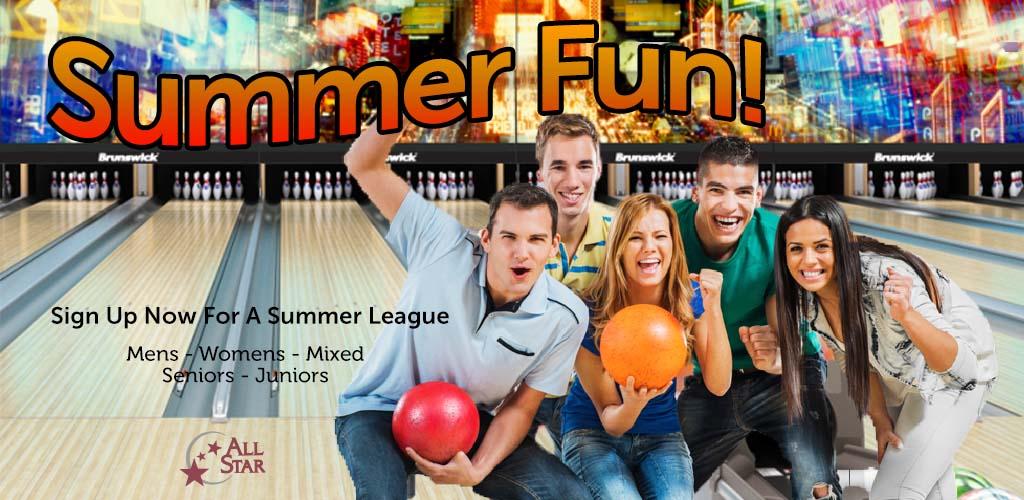 Enthusiastic bowling team - Sign up for leagues now